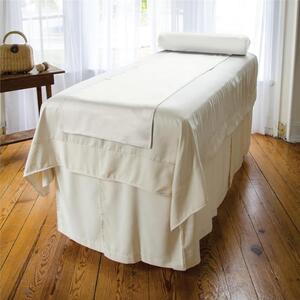 "Sposh Reversible Microsatin Blanket 58"" x 85"" - White Cream Coffee Roast Tea Leaf Moonstone Slate Deep Agate Blue"