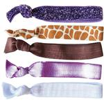 Dye-Ties Cards - Wonderstruck Collection 5 Hair Ties