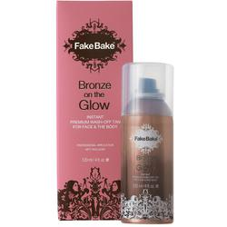 Fake Bake Bronze On The Glow - Instant Premium Was-Off Tan for Face and Body 4 oz.