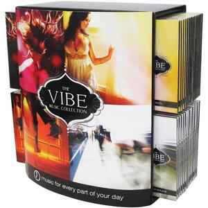 Prescriptive Music Vibe Collection Prepack Display - 60 CD's for Retail + 4 FREE CDs to play in Your Retail Boutique