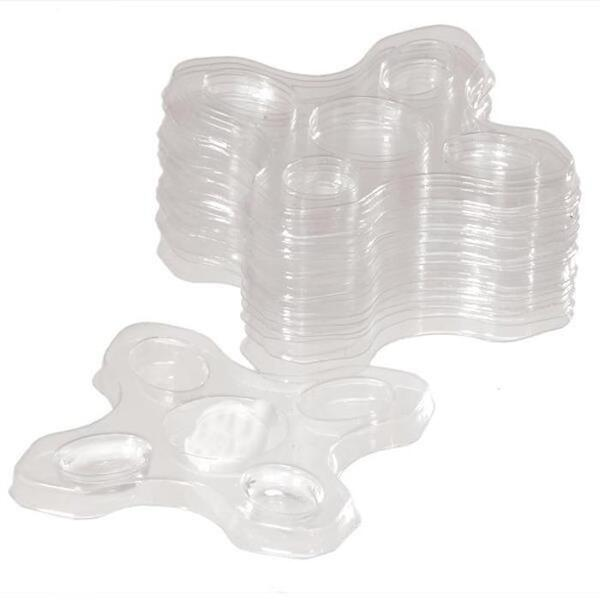 Vlash Disposable Adhesive Trays 50 Pack