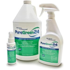 PureGreen24 Disinfectant - Deodorizer 1 Gallon