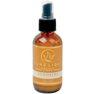 Pure Light Organic Body Spray + Room Spray + Linen Spray - Sunshine 3.4 oz.
