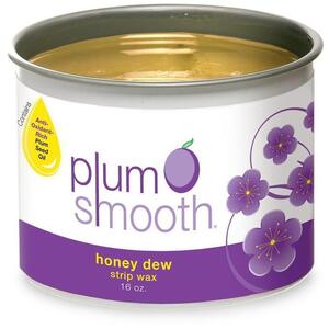Plum Smooth Strip Wax - Honey Dew 16 oz.