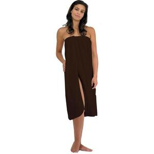 Canyon Rose Cloud 9 Microplush Women's Spa Wrap Chocolate Once Size Fits Most