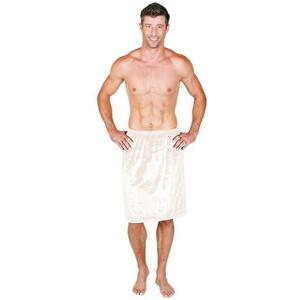 Canyon Rose Cloud 9 Microplush Men's Spa Wrap Sand