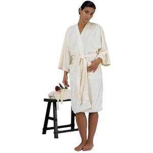 "Canyon Rose Cloud 9 Microplush Spa Robe - 42"" Long - One Size Fits Most Sand"