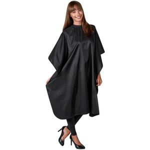 "Betty Dain Glitz Cape - Black 45""W x 60""L"