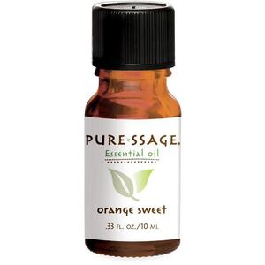 Pure-ssage Sweet Orange Essential Oil 10 mL.