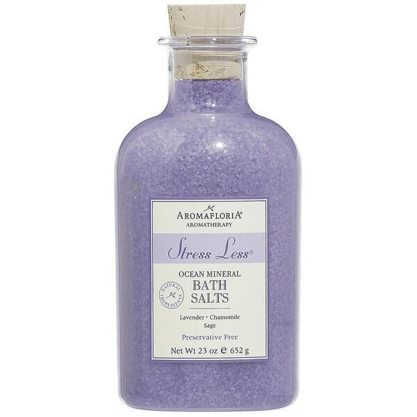 Aromafloria Stress Less Ocean Mineral Bath Salts - Lavender Bath Salts 23 oz. - 652 grams