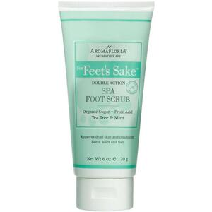 Aromafloria For Feet's Sake Double Action Spa Foot Scrub 6 oz. - 170 grams