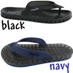 Sensi Sandals - Wave London Spa Sandal Available in Black or Navy