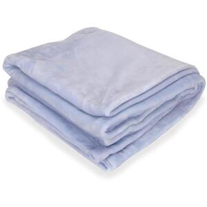 "Sposh Chelour Throw 58"" L x 60"" W - Spa Blue"
