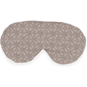"Sposh Eye Pillow Moonstone Taupe Rattan - 9"" W x 4"" L"