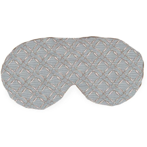 "Sposh Eye Pillow Agate Blue Rattan - 9"" W x 4"" L"