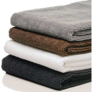 "Sposh Microfiber Towels - 16"" x 29"" - 10 Pack Available in Black Chocolate Grey and White"