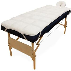 Sposh Deluxe Quilted Massage Table Fleece Pad Set