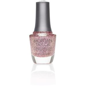 Morgan Taylor Nail Lacquer - Sweetest Thing (Light Pink Glitter) 0.5 oz.