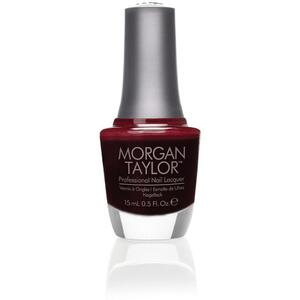 Morgan Taylor Nail Lacquer - Take the Lead (Chocolatey Red Creme) 0.5 oz.