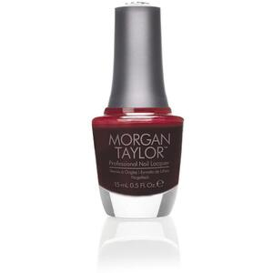 Morgan Taylor Nail Lacquer - From Paris with Love (Deep Red Creme) 0.5 oz.