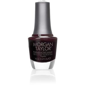 Morgan Taylor Nail Lacquer - Most Wanted (Black Purple Creme) 0.5 oz.