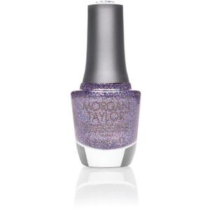 Morgan Taylor Nail Lacquer - Let Them Eat Cake (Purple Prismatic Glitter) 0.5 oz.