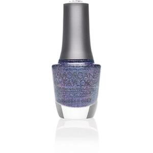 Morgan Taylor Nail Lacquer - Make a Statement (Blue Purple Glitter) 0.5 oz.