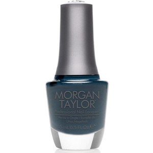 Morgan Taylor Nail Lacquer - Denim Du Jour (Deep Gray Navy Creme) 0.5 oz.