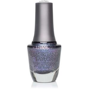 Morgan Taylor Nail Lacquer - Regal as a Royal (Deep Sapphire Glitter) 0.5 oz.