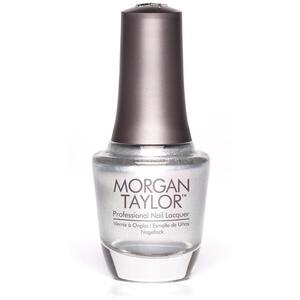 Morgan Taylor Nail Lacquer - Oh Snap It's Silver! (Multi Dimensional Silver Metallic) 0.5 oz.