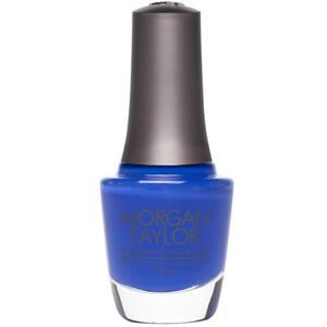 Morgan Taylor Nail Lacquer - Making Waves (Bright Blue Creme) 0.5 oz.