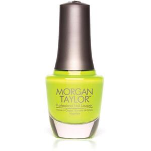 Morgan Taylor Nail Lacquer - Watt Yel-Lookin At? (Vivid Yellow Creme) 0.5 oz.