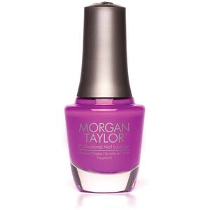 Morgan Taylor Nail Lacquer - Shock Therapy (Vibrant Purple Creme) 0.5 oz.