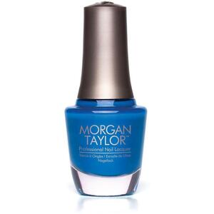 Morgan Taylor Nail Lacquer - Don't Touch Me I'm Radioactive (Bright Blue Creme) 0.5 oz.