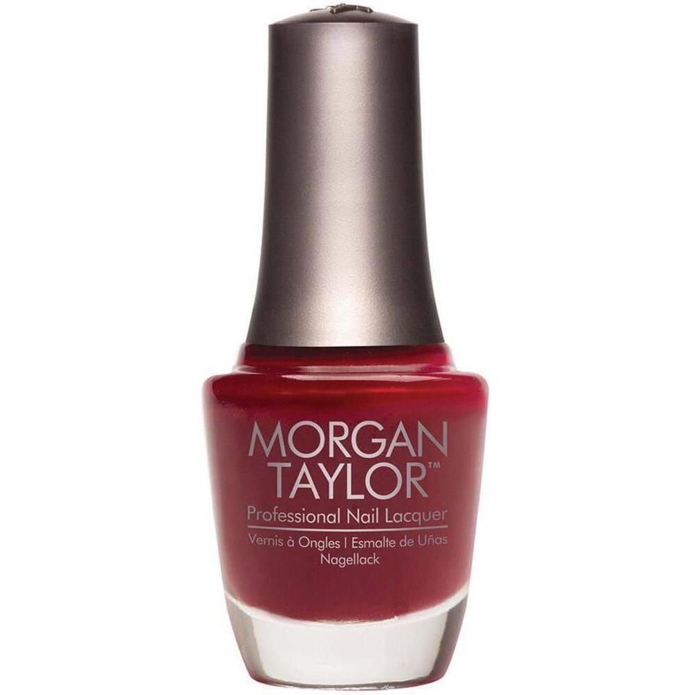 Taylor Nail Lacquer - A Touch Of Sass (Dark Red Creme) 0.5 oz.