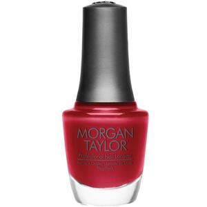 Morgan Taylor Nail Lacquer - Ruby Two-Shoes (Scarlet Red Creme) 0.5 oz.