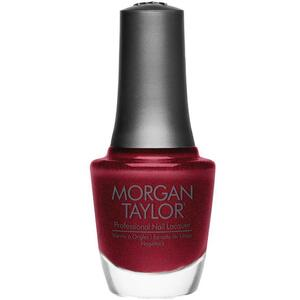 Morgan Taylor Nail Lacquer - I'm So Hot (Burgundy Shimmer) 0.5 oz.