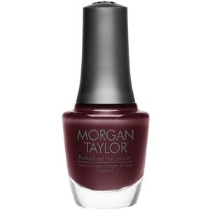 Morgan Taylor Nail Lacquer - A Little Naughty (Eggplant Creme) 0.5 oz.