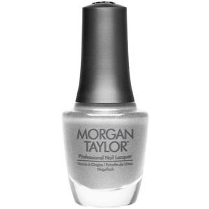 Morgan Taylor Nail Lacquer - Tinsel My Fancy (Silver Textured Metallic) 0.5 oz.