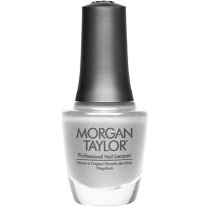 Morgan Taylor Nail Lacquer - Gifted In Platinum (Platinum Shimmer) 0.5 oz.