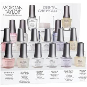 Morgan Taylor Nail Lacquer - 12 Piece Treatment Display