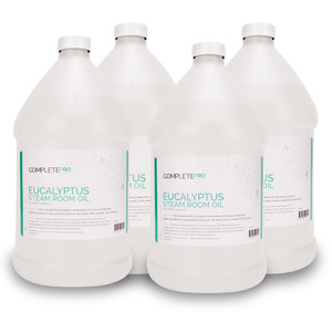Complete Pro - Eucalyptus Steam Room Oil Case of (4) 1 Gallon Containers