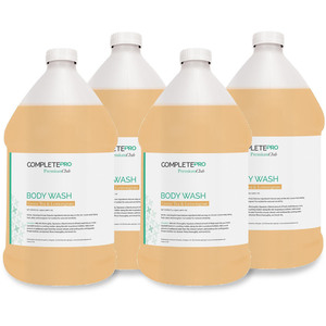 Complete Pro - Premium Club Body Wash - Green TeaLemongrass 4 Gallons