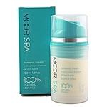 Moor Spa Renewal Cream for Face and Neck - Reduces The Appearance of Fine Lines and Wrinkles 16.9 oz. - 500 mL. | Professional Size