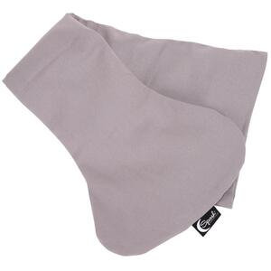 "Sposh Decollete Neck Wrap with Removable Washable Cover - 28""L x 9""W Pelican Grey"