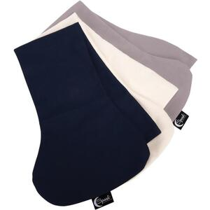 Sposh Decollete Neck Wrap Replacement Covers - Set of 3 Colors Pelican Grey + Natural + Navy