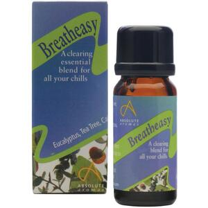 Absolute Aromas - Breatheasy Aromatherapy Blend 10 mL.