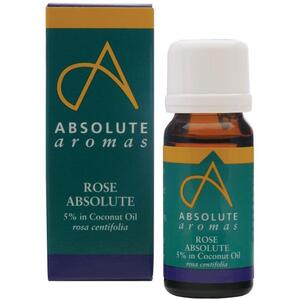 Absolute Aromas - Rose Absolute 5% Dilution Essential Oil 10 mL.