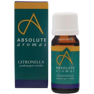 Absolute Aromas - Citronella Essential Oil 10 mL.
