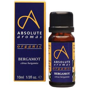 Absolute Aromas - Organic Bergamot Essential Oil 10 mL.
